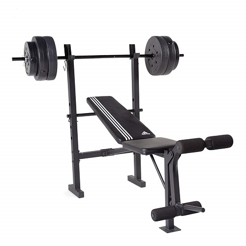 Adidas Essential Combo Training Bench With Weight Set Review Weweight